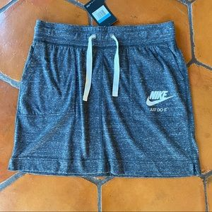 NIKE Just Do It Drawstring athletic Skirt M NEW